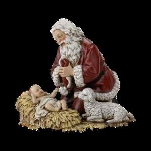 Papai_Noel_e_Jesus