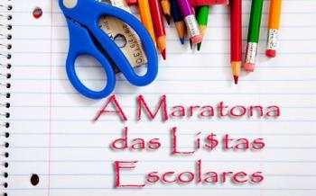 A maratona das Listas Escolares